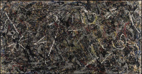 Alchimia di Jackson Pollock.  Viaggio all'interno della materia  alla Peggy Guggenheim  di Venezia